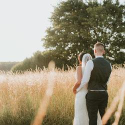 Lauren & Duncan's elegant rustic wedding at Merriscourt, with Rachel Lou Photography