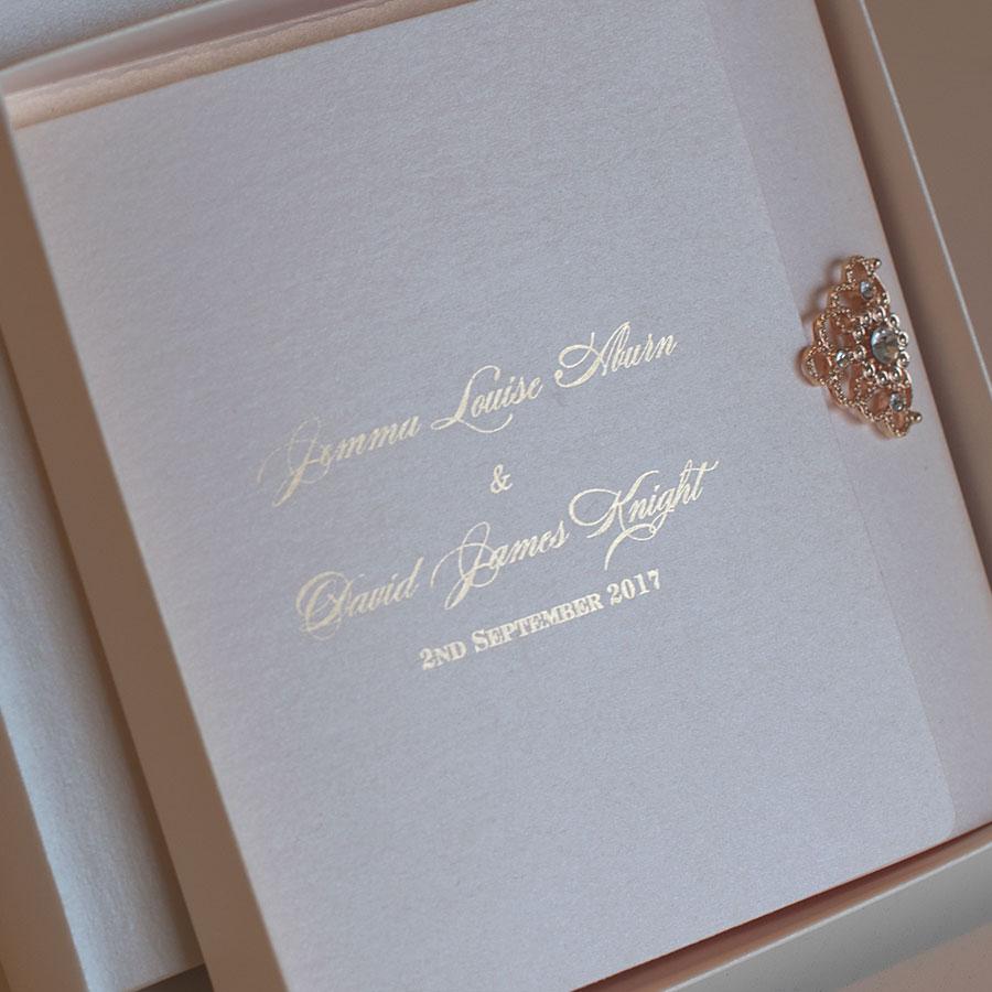 Elegant wedding invitations UK design Polina Perri (9)