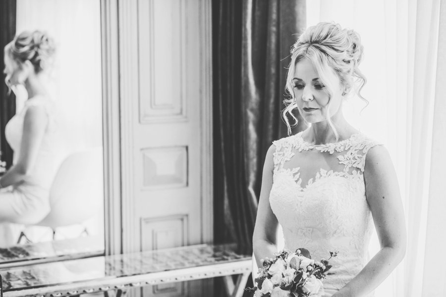 Gorgeous candlelit wedding ceremony on English Wedding blog, image credit Sarah Millington Photography (20)