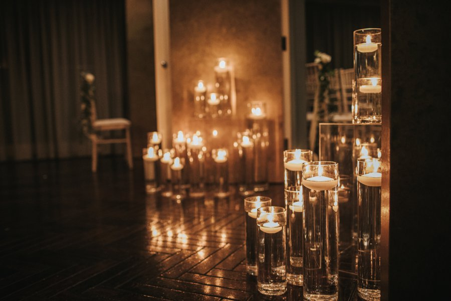 Gorgeous candlelit wedding ceremony on English Wedding blog, image credit Sarah Millington Photography (23)