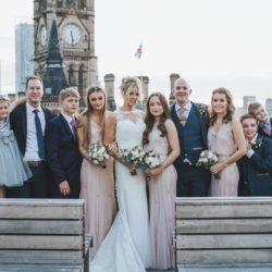 Rebecca & Stephen's candlelit city centre wedding, with Sarah Millington Photography