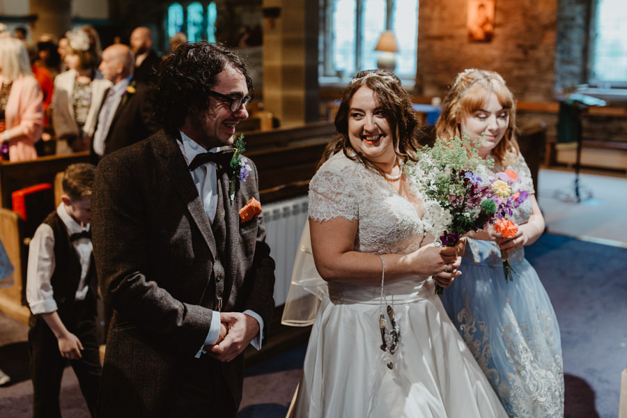 DIY vintage wedding in Huddersfield 2018, with Stevie Jay Photography (7)