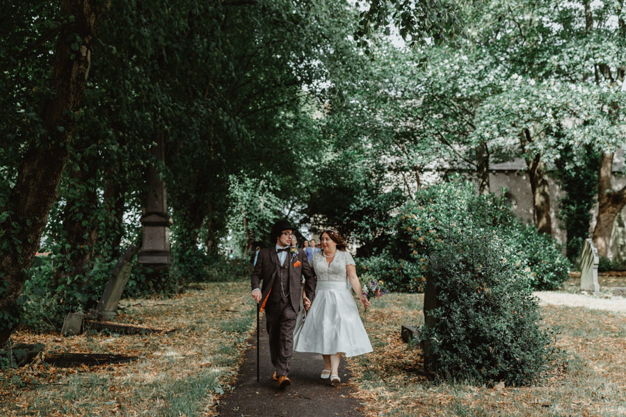 DIY vintage wedding in Huddersfield 2018, with Stevie Jay Photography (11)