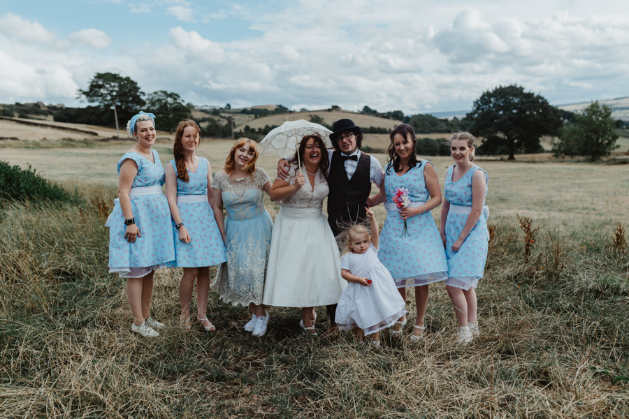 DIY vintage wedding in Huddersfield 2018, with Stevie Jay Photography (21)