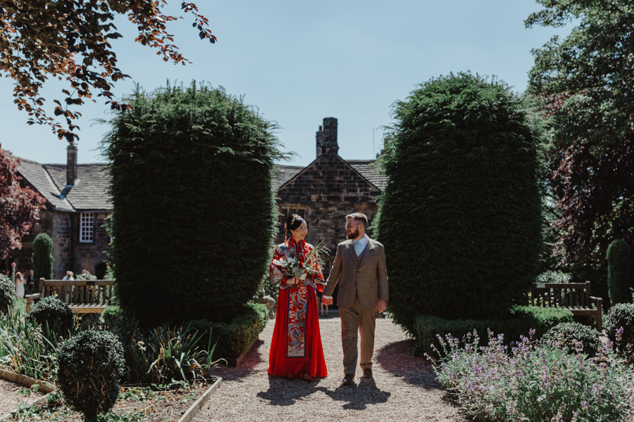 Siren and Greg's gorgeous Oakwell Hall wedding, image credit Stevie Jay Photography (17)