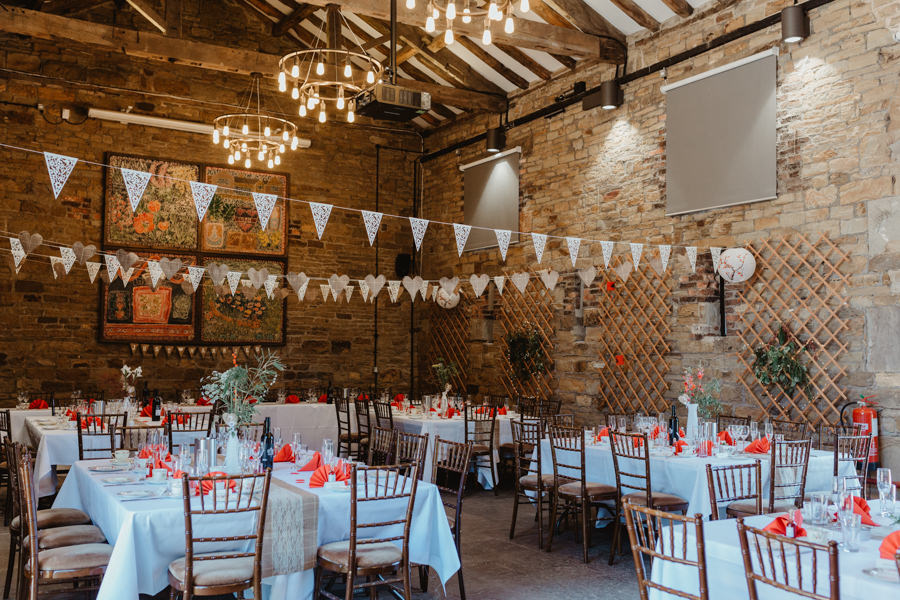 Siren and Greg's gorgeous Oakwell Hall wedding, image credit Stevie Jay Photography (23)