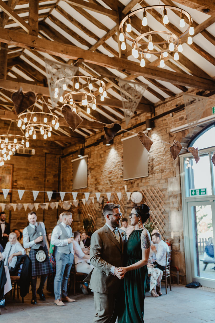 Siren and Greg's gorgeous Oakwell Hall wedding, image credit Stevie Jay Photography (49)