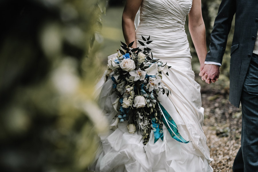 Peacock wedding styling ideas at Larmer Tree Gardens, image credit Oobaloos Photography (16)