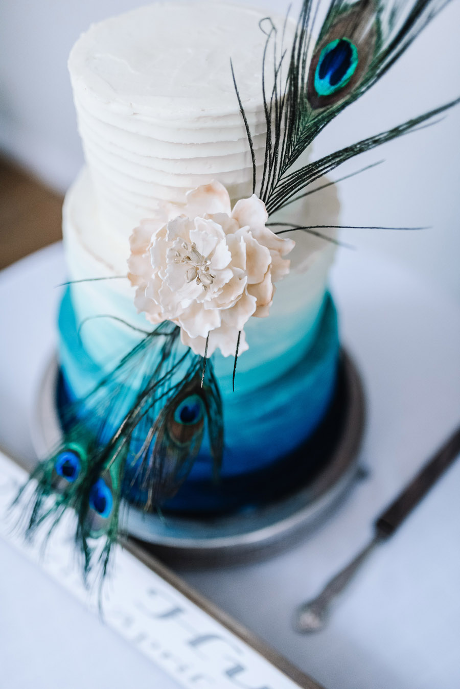 Peacock wedding styling ideas at Larmer Tree Gardens, image credit Oobaloos Photography (1)