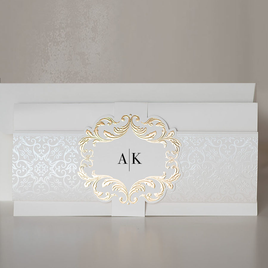 Elegant wedding invitations UK design Polina Perri (10)