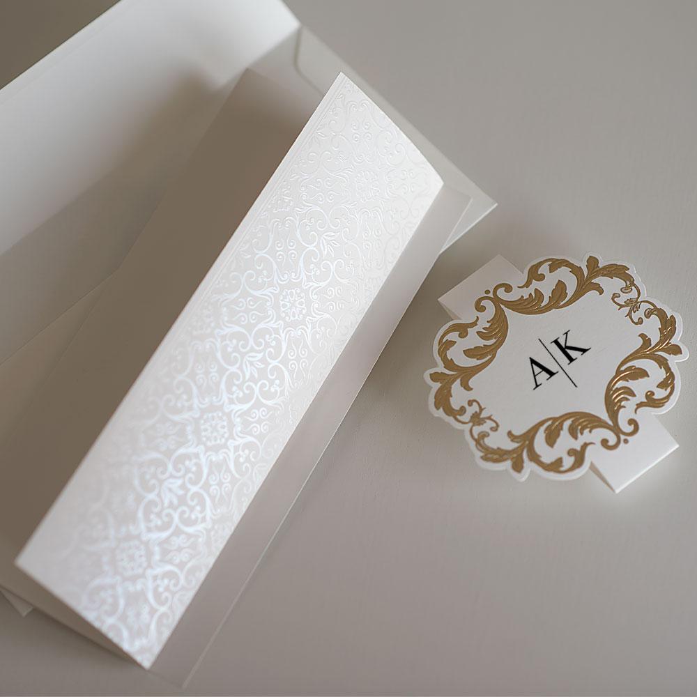 Elegant wedding invitations UK design Polina Perri (11)