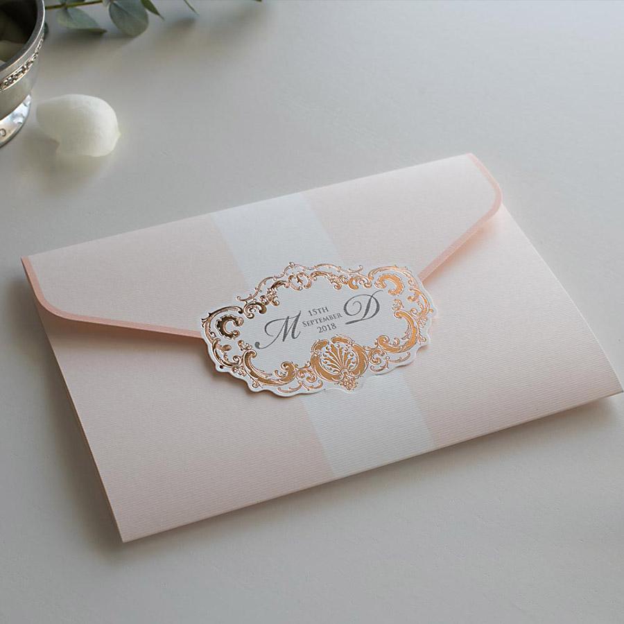 Elegant wedding invitations UK design Polina Perri (12)