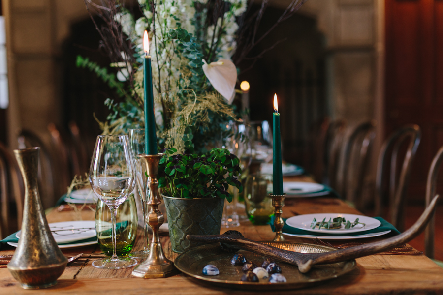 winter woodland wedding inspiration blog, images by Hayley Rose Photography (7)