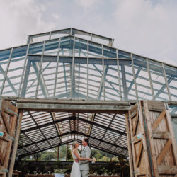 James & Anna's tropical botanical wedding at Anran, Tidwell Farm, Devon – with Special Day Wedding Photos