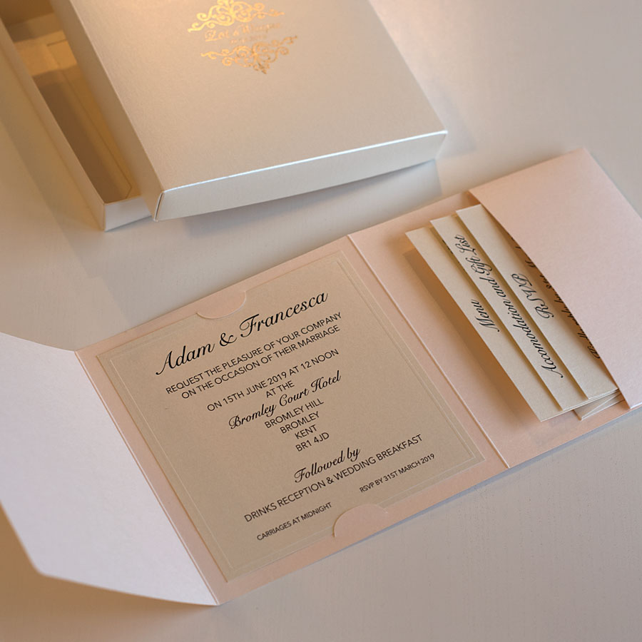 5 Favourite Invitations For A Luxury Stately Home Wedding