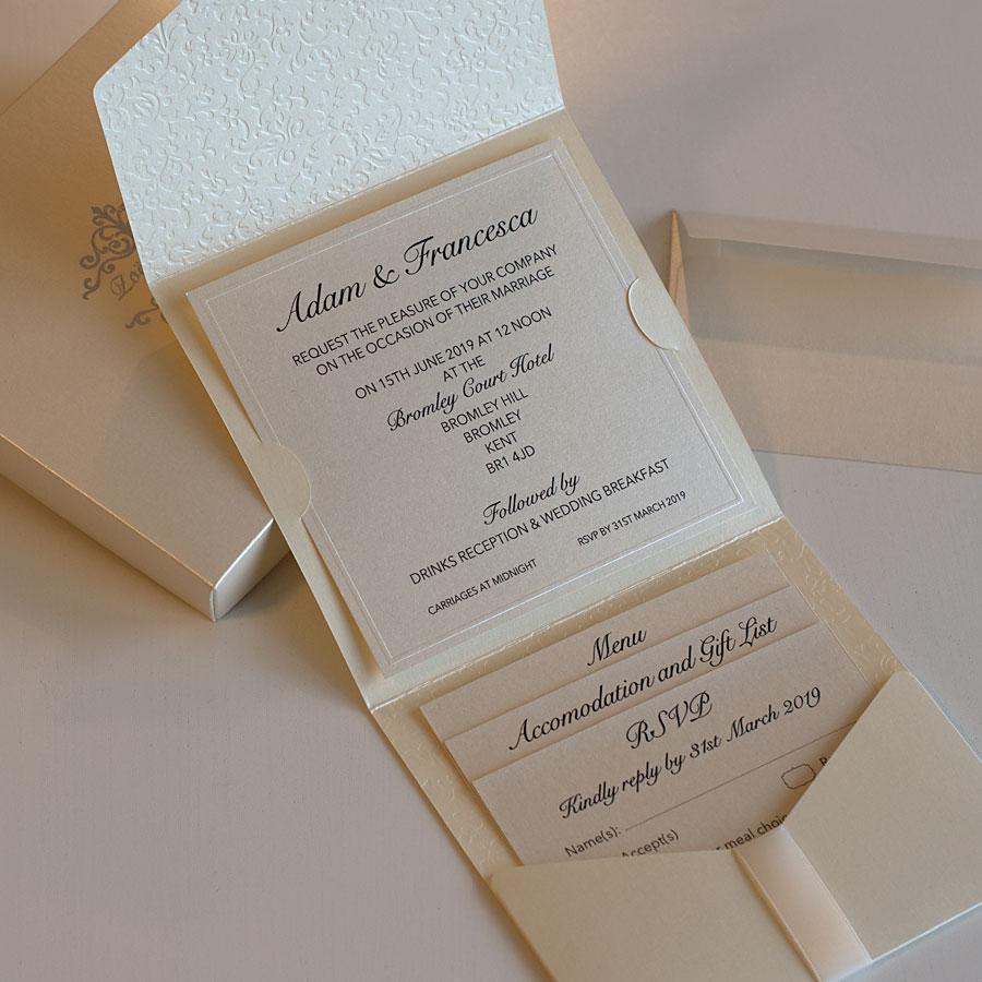 Elegant wedding invitations UK design Polina Perri (8)