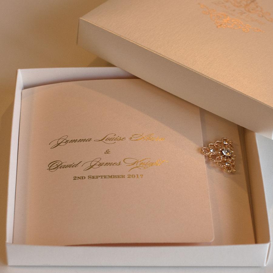 Elegant wedding invitations UK design Polina Perri (13)