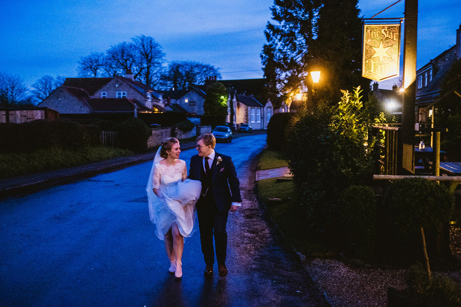 Beautiful photography of a December wedding in candlelight at the Star Inn Harome, photos by York Place Studios (23)