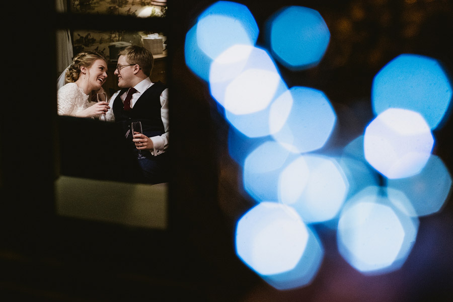 Beautiful photography of a December wedding in candlelight at the Star Inn Harome, photos by York Place Studios (25)