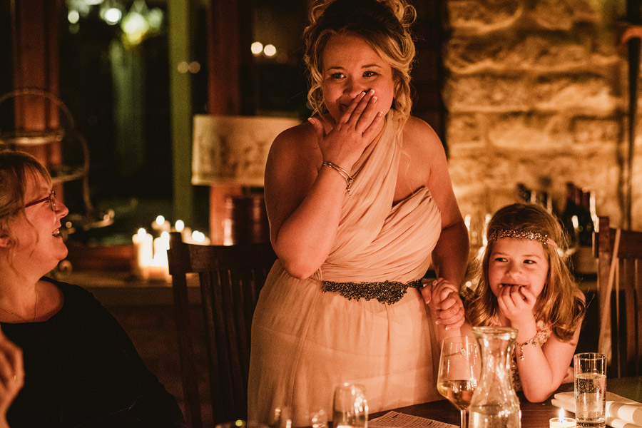 Beautiful photography of a December wedding in candlelight at the Star Inn Harome, photos by York Place Studios (32)