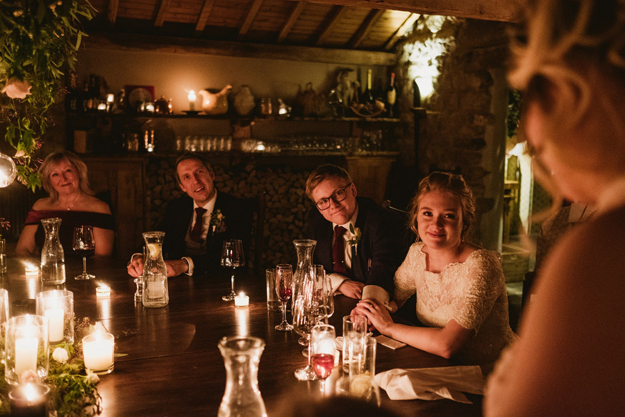 Beautiful photography of a December wedding in candlelight at the Star Inn Harome, photos by York Place Studios (33)