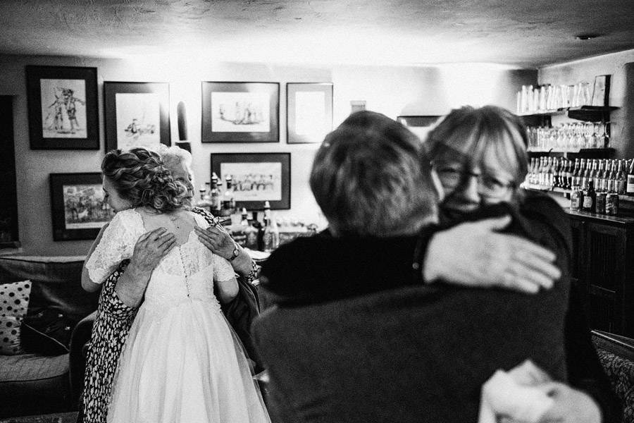 Beautiful photography of a December wedding in candlelight at the Star Inn Harome, photos by York Place Studios (41)