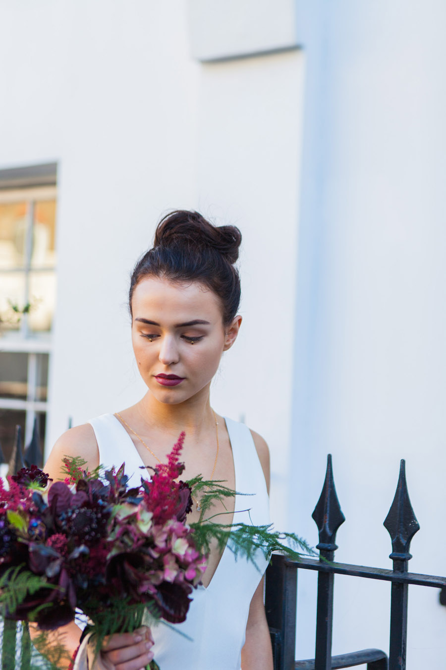Moody Nordic wedding style ideas created in London, with images by Amanda Karen Photography (16)