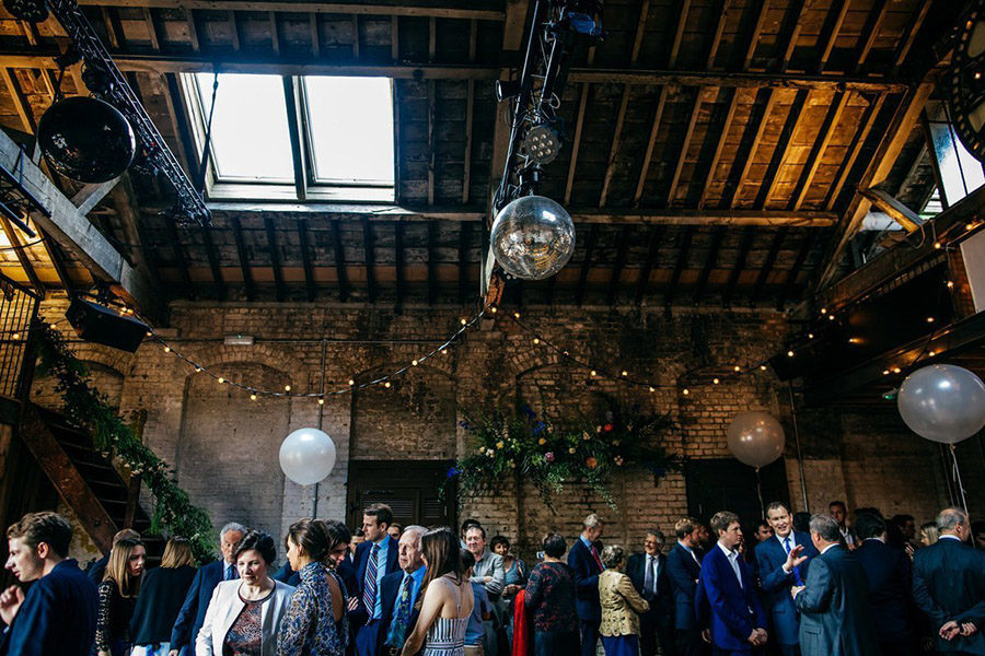 Top London wedding venue Brixton East, image credit Jordanna Marston Photography