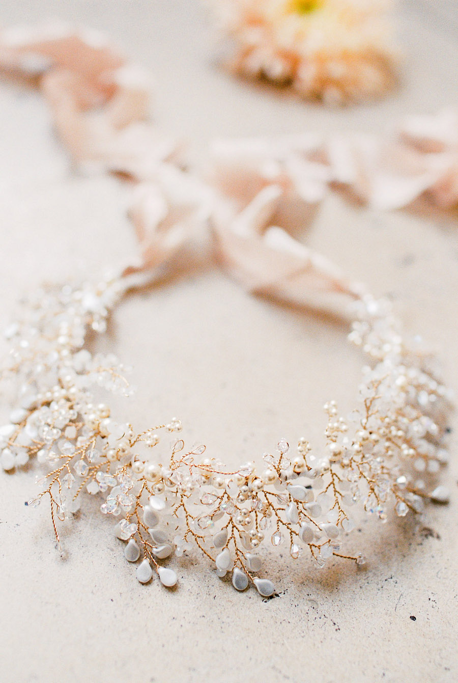 Unique wedding accessories and jewellery by Clare Lloyd in Somerset (11)