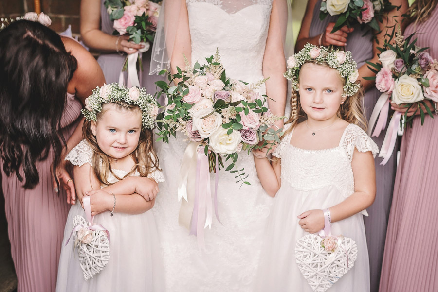 Eversholt Hall wedding with feminine floral styling, image credit Matthew Bishop Photography (18)