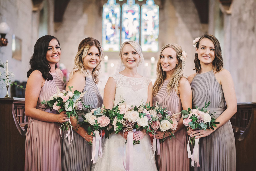 Eversholt Hall wedding with feminine floral styling, image credit Matthew Bishop Photography (23)