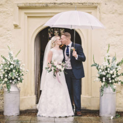 Romantic and feminine wedding styling for Sophie and Stephen at Eversholt Hall