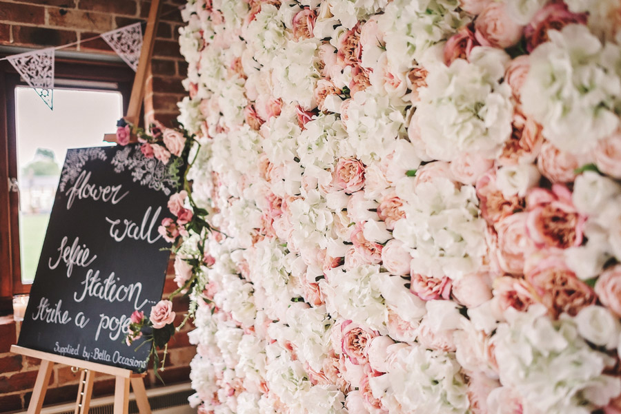 Eversholt Hall wedding with feminine floral styling, image credit Matthew Bishop Photography (31)