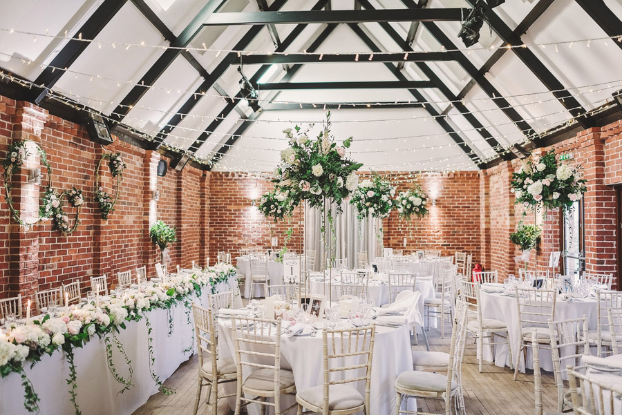Eversholt Hall wedding with feminine floral styling, image credit Matthew Bishop Photography (32)