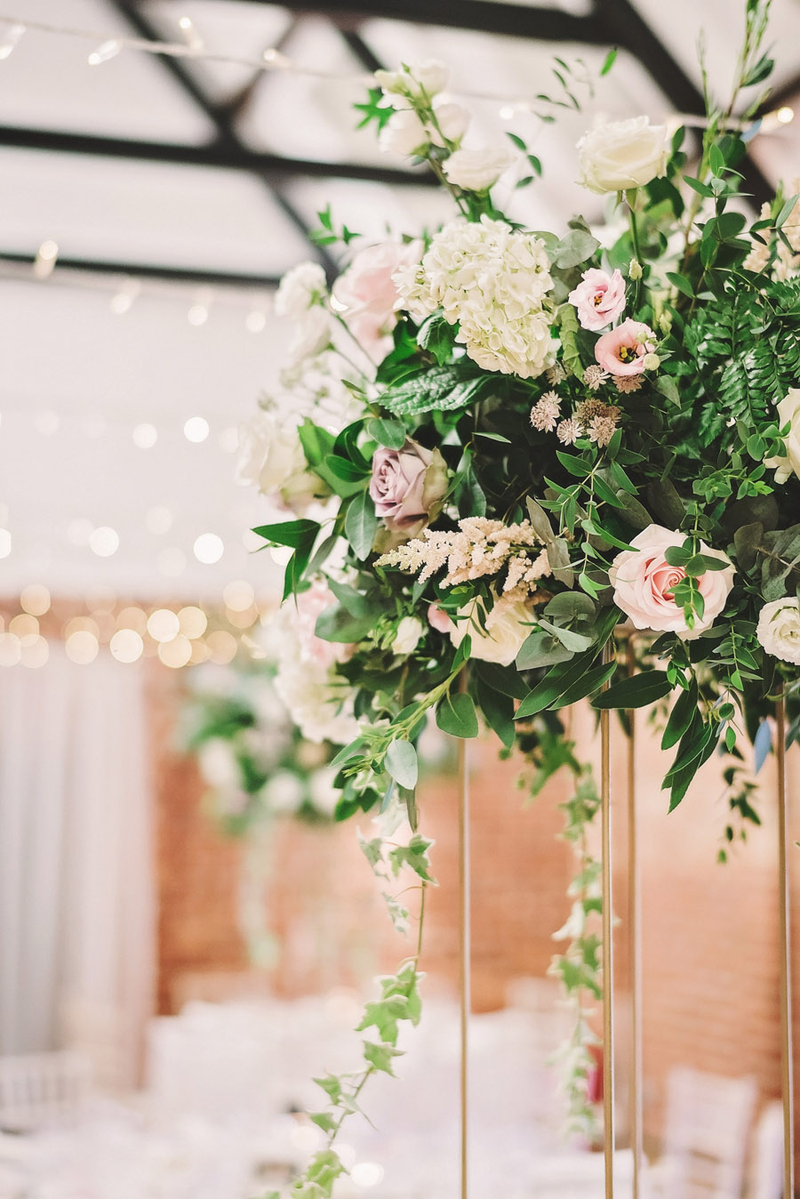 Eversholt Hall wedding with feminine floral styling, image credit Matthew Bishop Photography (36)