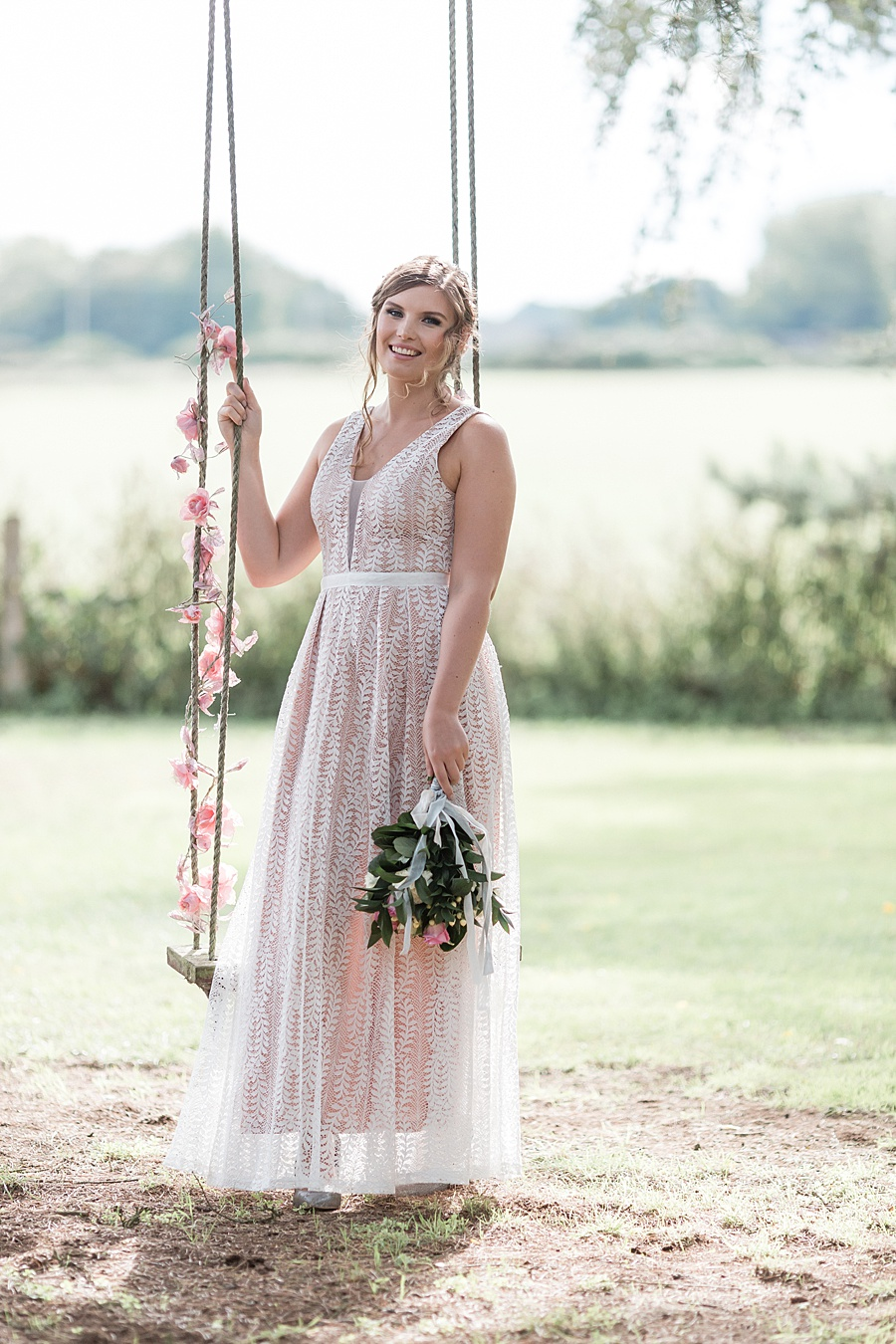 Neutral organic and minimal wedding style ideas from Kingsdown Rectory. Styling Your Wedding Your Way Images Kate Hennessey Photography (16)