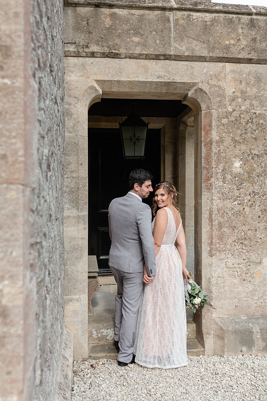 Neutral organic and minimal wedding style ideas from Kingsdown Rectory. Styling Your Wedding Your Way Images Kate Hennessey Photography (17)