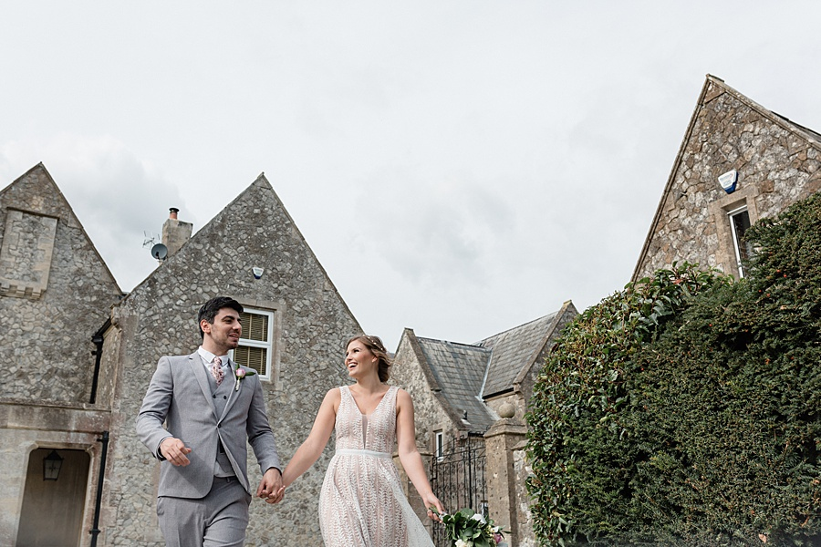 Neutral organic and minimal wedding style ideas from Kingsdown Rectory. Styling Your Wedding Your Way Images Kate Hennessey Photography (18)