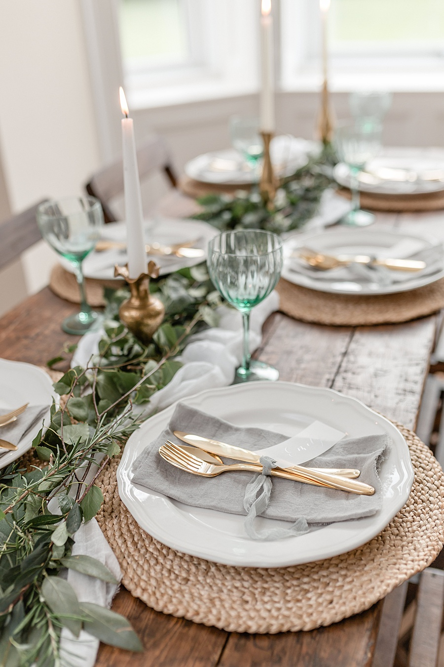 Neutral organic and minimal wedding style ideas from Kingsdown Rectory. Styling Your Wedding Your Way Images Kate Hennessey Photography (44)
