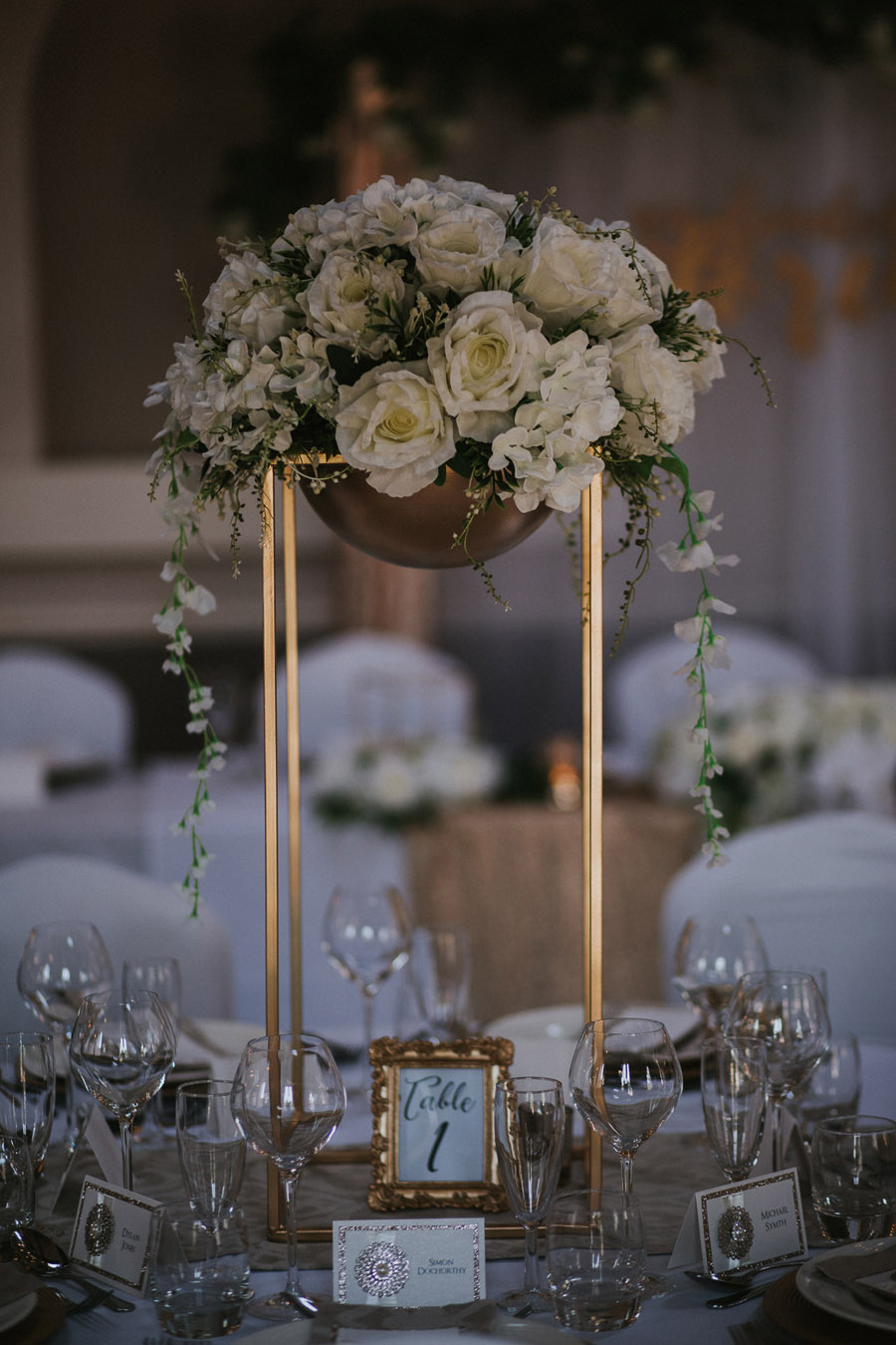 Opulent and luxe wedding styling ideas from Hothorpe Hall Leicestershire (2)