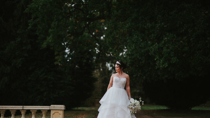 Opulent and luxe wedding styling ideas from Hothorpe Hall Leicestershire (20)