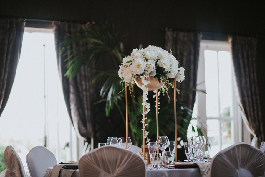 Opulent and luxe wedding styling ideas from Hothorpe Hall Leicestershire (6)