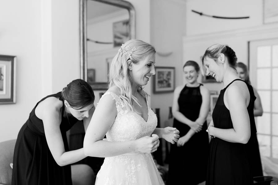 Hannah and Mark's RAC Club wedding image credit Danielle Smith Photography (4)