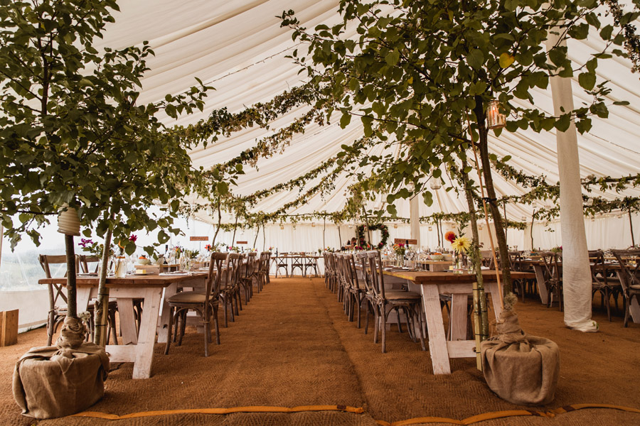 Farm wedding in Dorset full of DIY styling ideas, images by Dorset wedding photographer Robin Goodlad Photography (24)