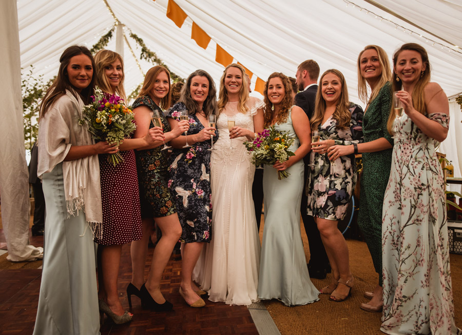 Farm wedding in Dorset full of DIY styling ideas, images by Dorset wedding photographer Robin Goodlad Photography (35)