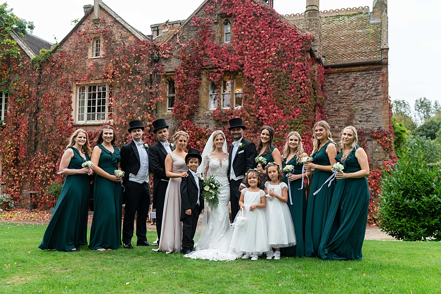 Maunsel House in Somerset - see inside a real wedding with Linus Moran Photography (37)