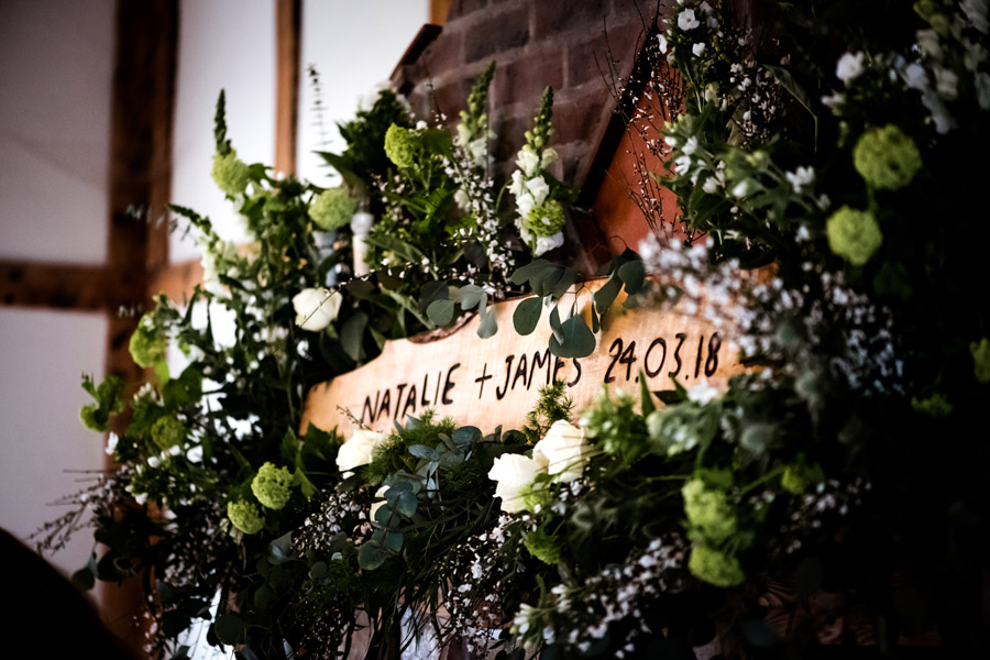 Burley Manor for a stunning wedding full of foliage and botanical theme with Robin Goodlad Photography Dorset (4)