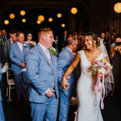 Pink, grey and white for Jen & Alex's lovely Childerley Barn wedding, with Rob Dodsworth Photography