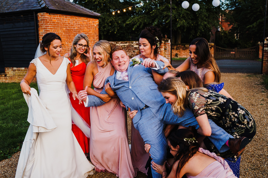 Fun and happy garden wedding at Childerley Hall with Rob Dodsworth Photography (45)