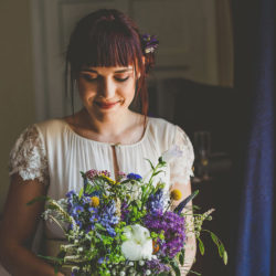 Bex & Chris's gorgeous Colehayes Park wildflower wedding with Howell Jones Photography